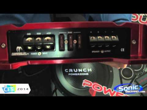 Crunch PZX Series Amplifiers | CES 2014