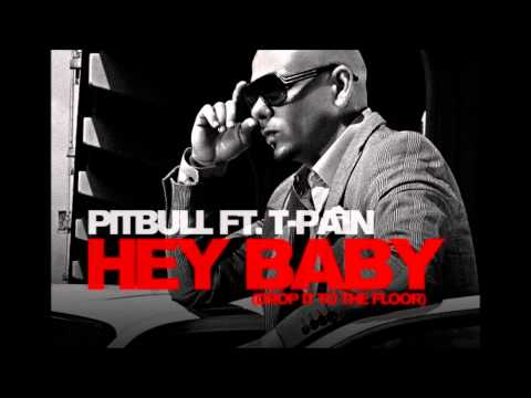Pitbull Ft  T Pain   Hey Baby  Instrumental video