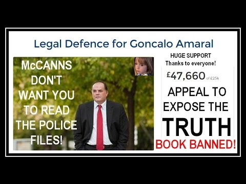 McCann v Amaral TRIAL appeal FUND to expose TRUTH-Police: 'Maddie DIED,  BODY hidden, FAKE abduction