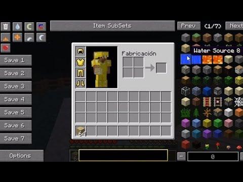 Descargar e Instalar Not Enough Items Mod para Minecraft 1.7.2 forge