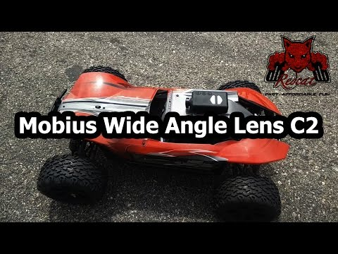 Mobius C2 on Blackout XBE Buggy RC Car - Redcat Racing
