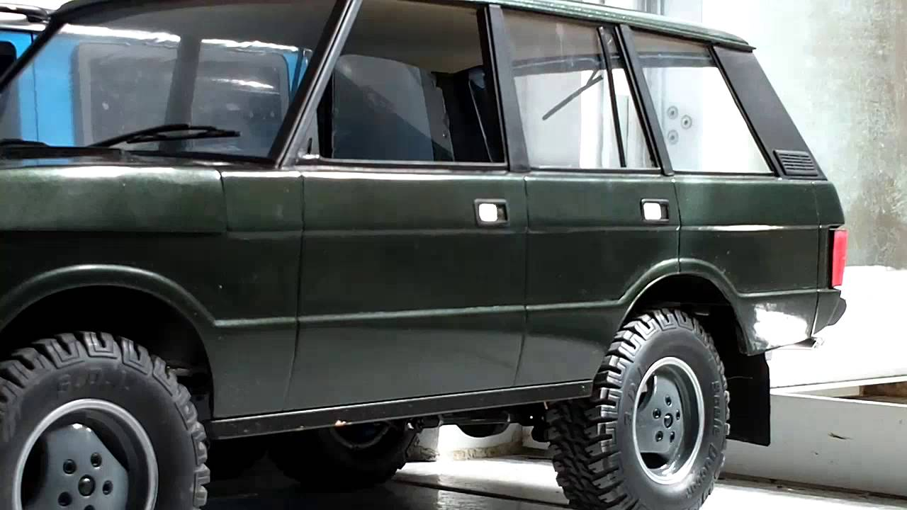 rc 4x4 scale d90 range rover classic full assembly. Black Bedroom Furniture Sets. Home Design Ideas