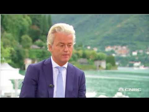 CNBC interview Geert Wilders: EU free movement to blame for terror