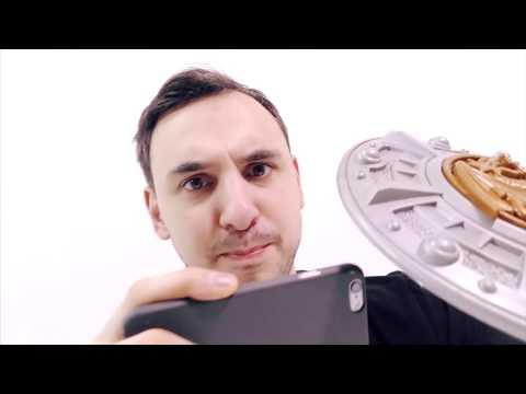 Папа РОБ играет в игру СLASH OF CLANS Обзор приложения Видео для детей Папа РОБ Шоу
