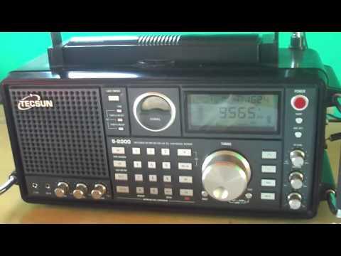 9565 khz Super Radio Deus é Amor , SRDA , Curitiba , Paraná , Brazil