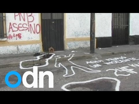 Venezuela unrest: 14-year-old boy shot dead by police during anti-government protest