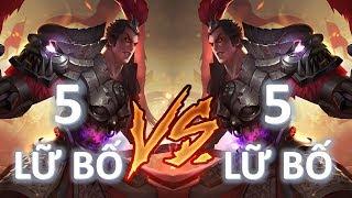 10 Lữ Bố trong một trận đấu 5vs5  - Trận đánh Vương Giả Vinh Diệu ảo nhất của Mobile MOBA Việt