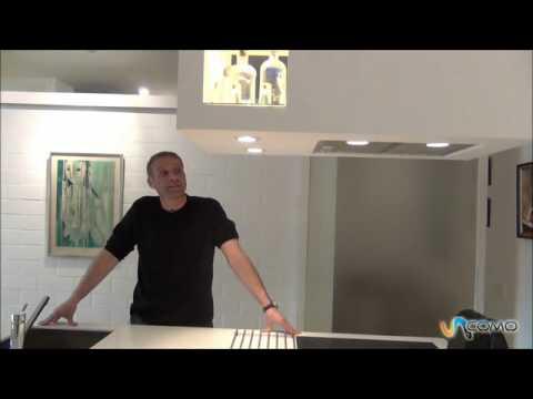 C mo hacer una campana en un cocina youtube - Como instalar una campana extractora ...