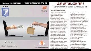 Loja Virtual com PHP 7 - Aula 12 - Confirmação de Cliente cadastrado