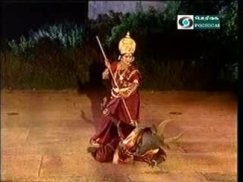 Durga Slays Mahisha video