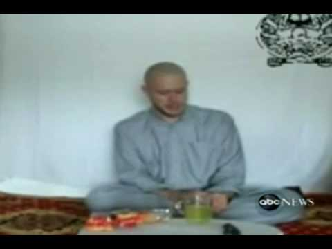 **TALIBAN VIDEO SHOWS CAPTIVE US SOLDIER(Bowe Bergdahl, 23)** 7/19/09