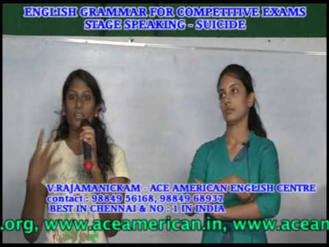 BEST STAGE SPEAKING TRAINING  INSTITUTION IN CHENNAI - STAGE SPEAKING TRAINING-SUICIDE