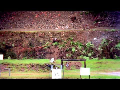 Vortex Razor AMG nailing steel @ 500 using Razor HD spotter to record shots
