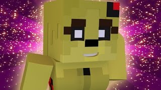 """FNAF World Five Nights in Anime - """"ANIME SPRINGTRAP"""" (Minecraft Roleplay) Night 7"""