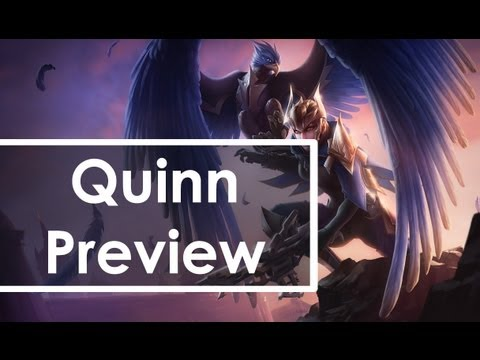 Quinn and Valor, Demacia's Wings Preview [League of Legends]