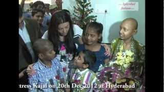 Impact Christmas Celebrations with Actress Kajal Agarwal at Hyderabad