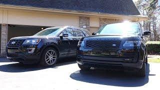 $50k Explorer Sport vs $130k Range Rover, Which Is Better?