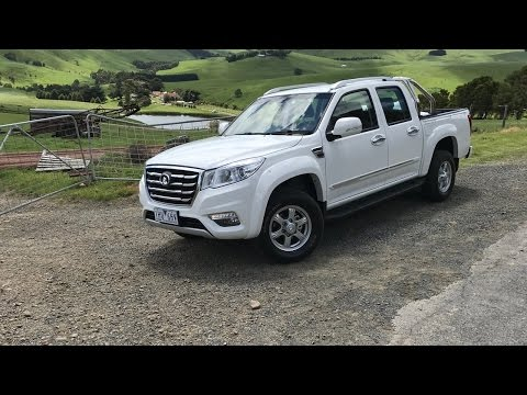 REVIEW 2017 Great Wall Steed 4×2 petrol