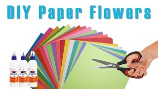 DIY Paper Flowers | How to Make Paper Flowers | Make Flowers with Paper