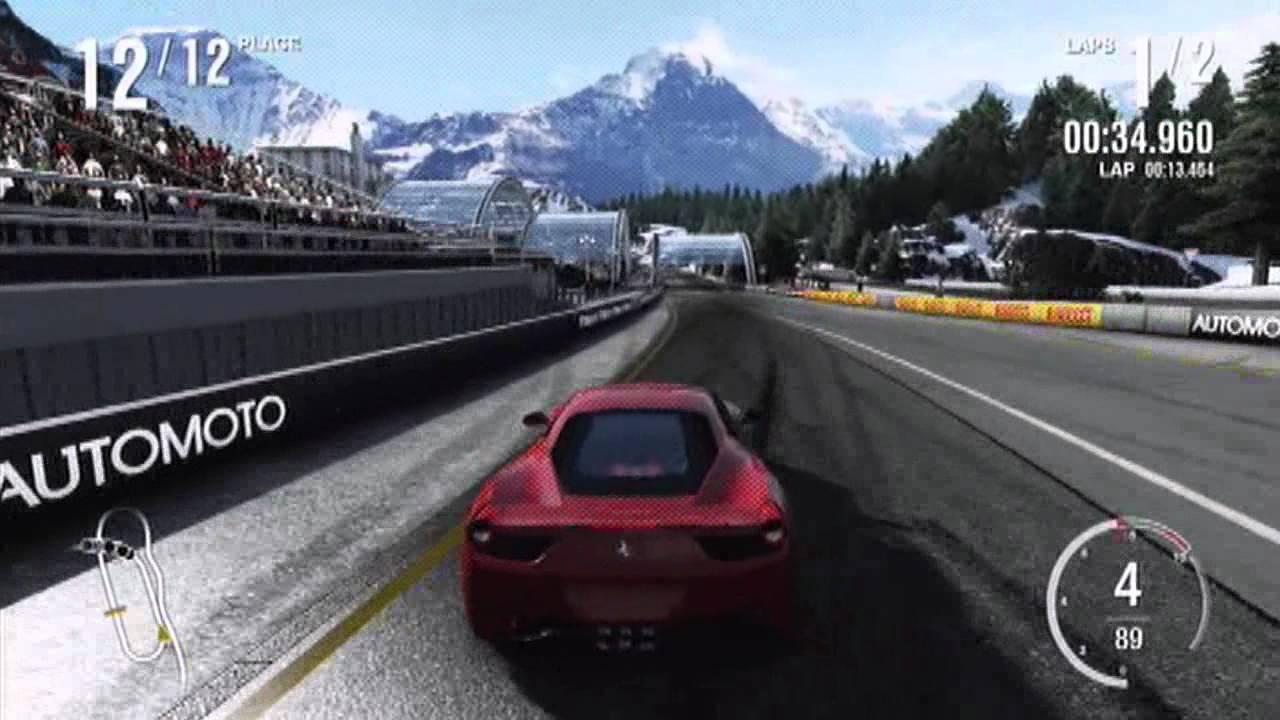 Forza 4 Drifting Ferrari 458