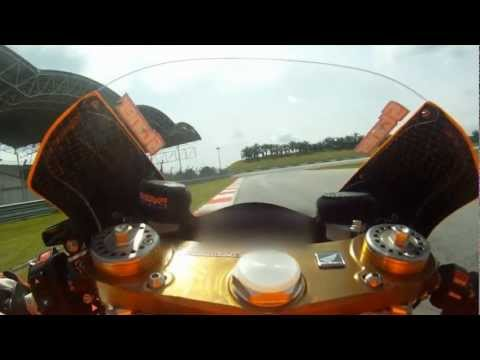 From Repsol: On board with Casey Stoner at Sepang, Feb 2012