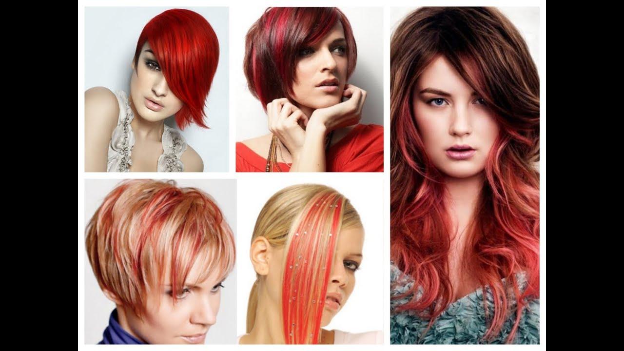 Прически стрижки цвет волос 2016