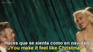 Gwen Stefani You Make It Feel Like Christmas Ft Blake Shelton English Español