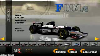 Gran Turismo 3: A-Spec [PS2] Senna, Williams FW16 - Côte d'Azur
