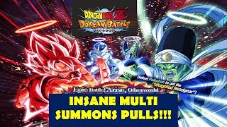 Dragonball Z Dokkan Showdown with the Otherworlds Mightiest Multi Summon