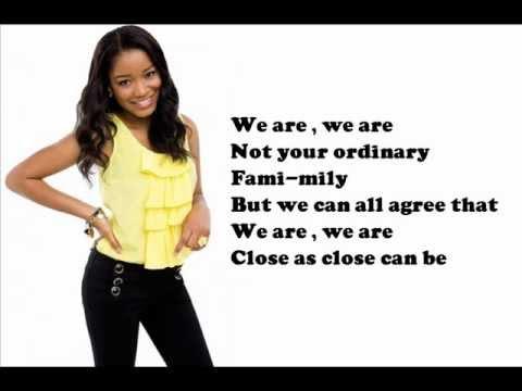 Keke Palmer - We Are Family