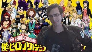 My Hero Academia Characters Summerized