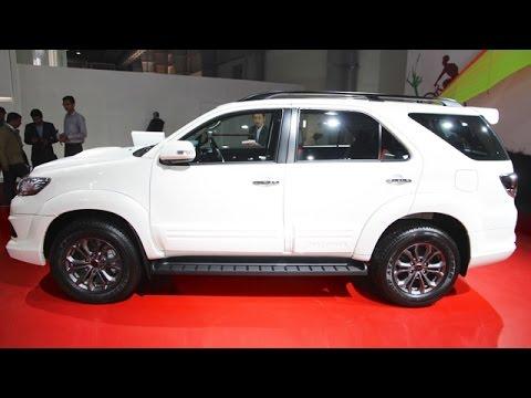 Toyota Fortuner TRD Sportivo Platinum Showcased - Auto Expo 2016