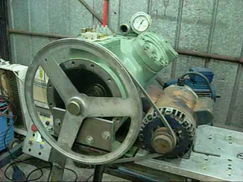 Bitzer V4 Compressor Run Leeson 1 5hp Single Phase Motor