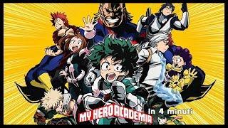 My Hero Academia in 4 minuti