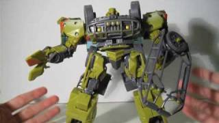 Transformers ROTF Revenge of The Fallen Desert Tracker Ratchet Review