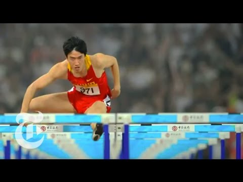 NYTimes.com - Summer Olympics: Chinese Track Star Liu Xiang