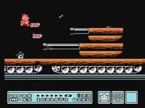 Super Mario Bros 3. [Warpless] *World 8* (Final)