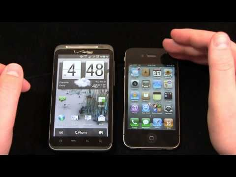 HTC ThunderBolt vs. Apple iPhone 4 Part 2