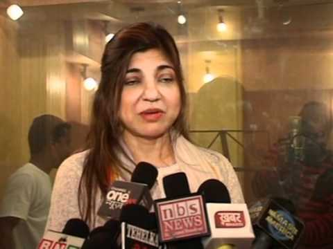 Bollywood World - Singer Alka Yagnik Attends Yeh Kaisi Parchhai...