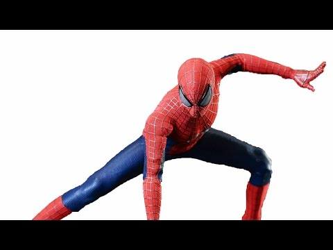 Hot Toys 1:6 Scale Amazing Spider-Man 2 Action Figure Photos In-Hand Images
