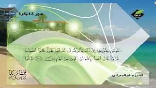 ماتيسر من سورت البقرة مع القارئ الشيخ ماهر المعيقلي