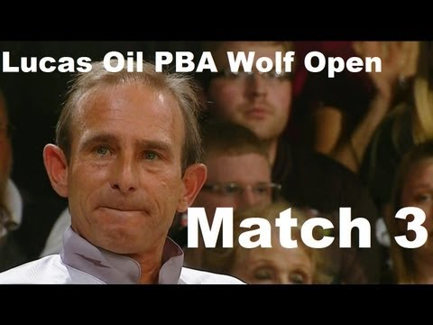 2013 Lucas Oil PBA Wolf Open Match 3 Semi Final