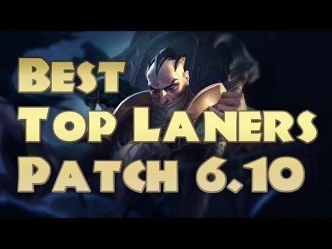 Top 5 Top Laners Patch 6.10 | Top Lane Tier List 6.10