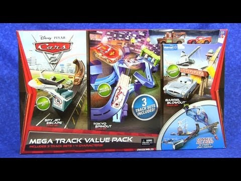 Disney Pixar Cars 2 Mega Track Value Pack Playset from Mattel