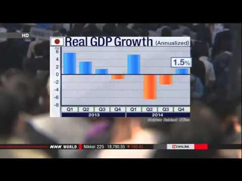 AlgosysFx Forex News Desk: Japan's Oct.-Dec. GDP revised downward to 1.5%
