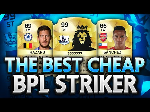 THE BEST CHEAP BPL STRIKER ON FIFA 16!!