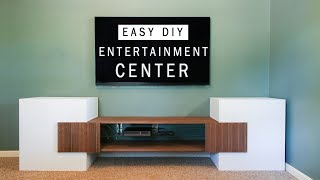 TV Stand or Media Console! How To Make A DIY Entertainment Center