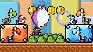 Super Mario Bros X (SMBX 1.4.4) - ''Yoshi in SMB3''. HD