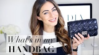 WHAT'S IN MY HANDBAG | EVENING EDITION 2016 | Miss Dior Promenade | Lydia Elise Millen