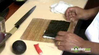 Sushi - How to Make a California Roll